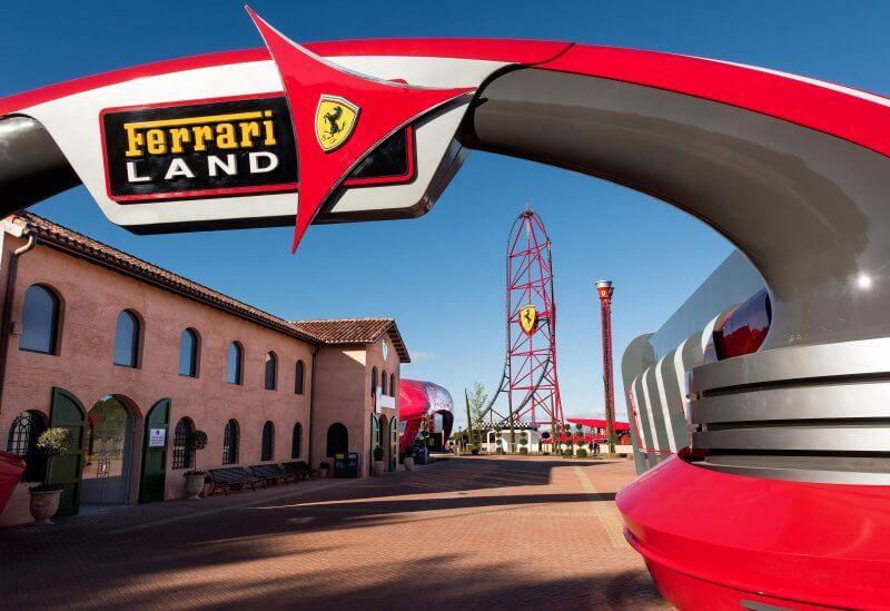 Ferrari Land в Испании