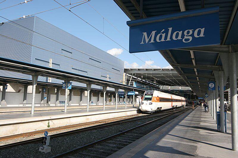 Железнодорожная станция Малаги