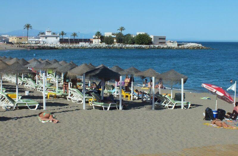 Пляж Санта Амалиа