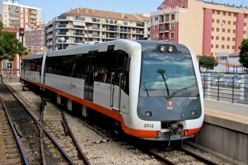 Скоростной трамвай в Дении