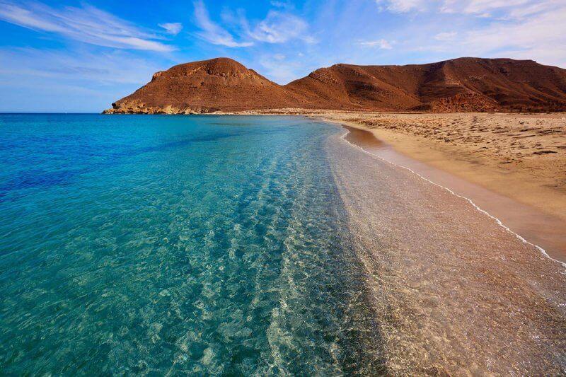 Пляж в Альмерии
