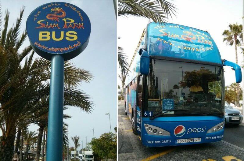 Автобус до Сиам парка