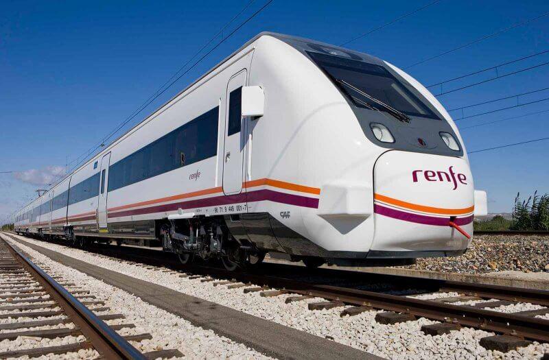 Поезд в Саламанке