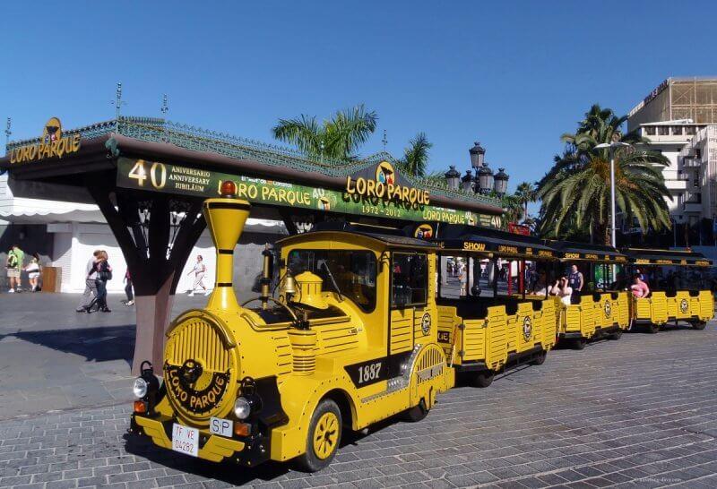 Поезд до Лоро парка