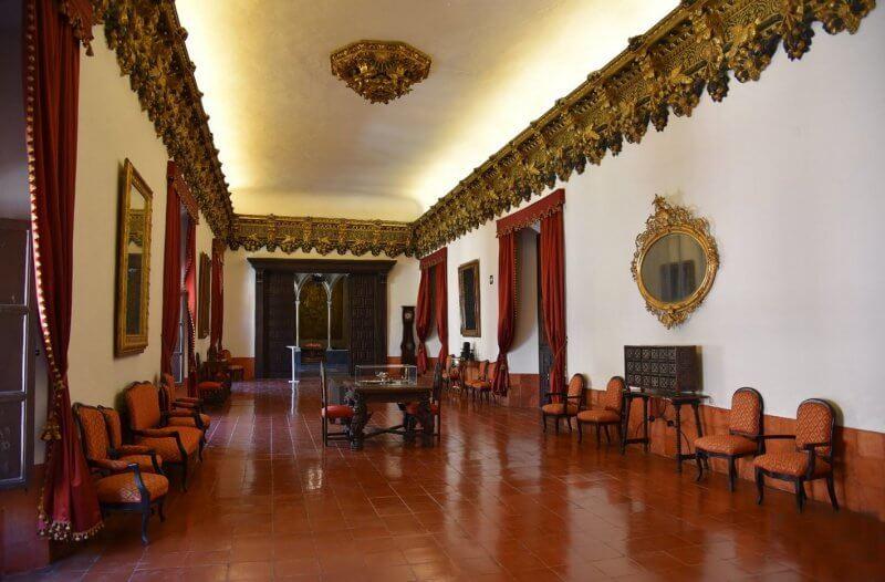 Зал во дворце Борджиа