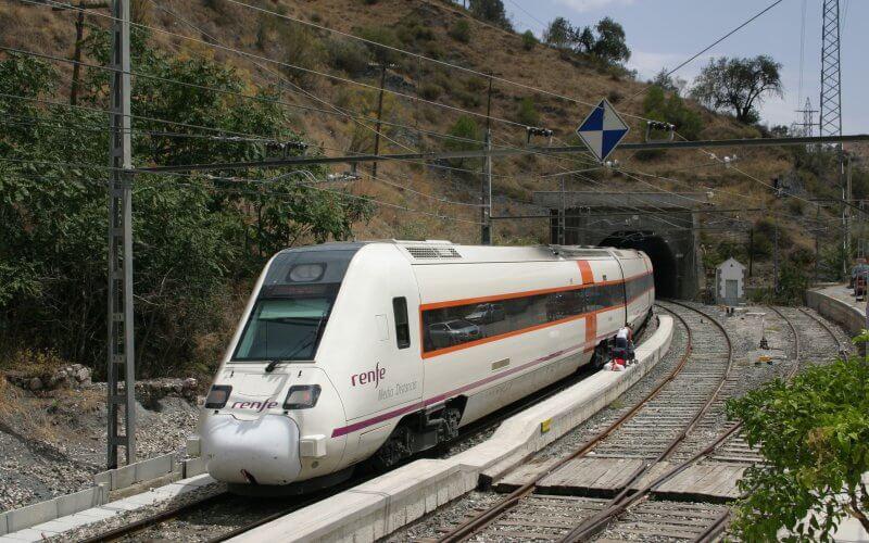 Поезд в Картахене