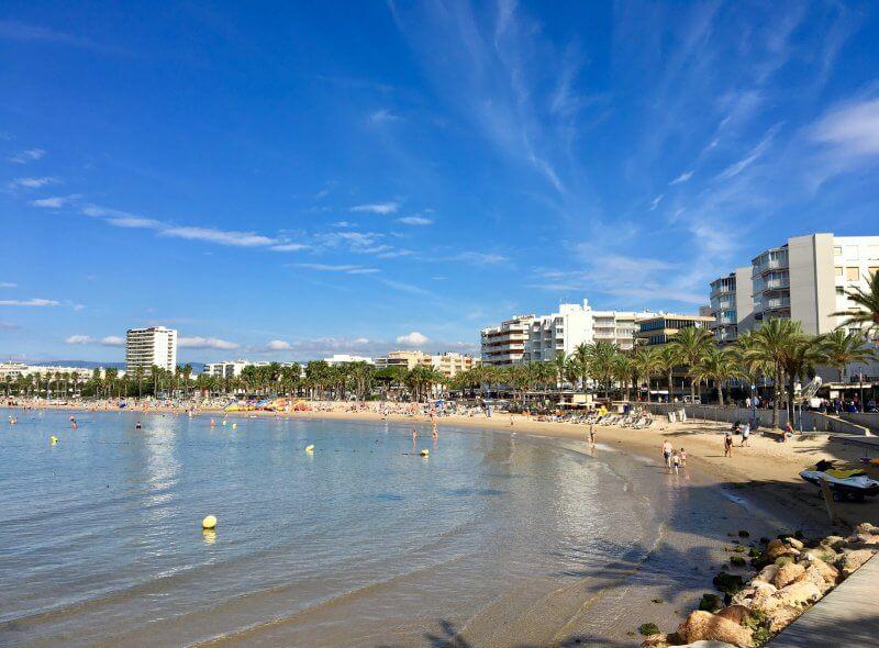 Пляж Ллевант