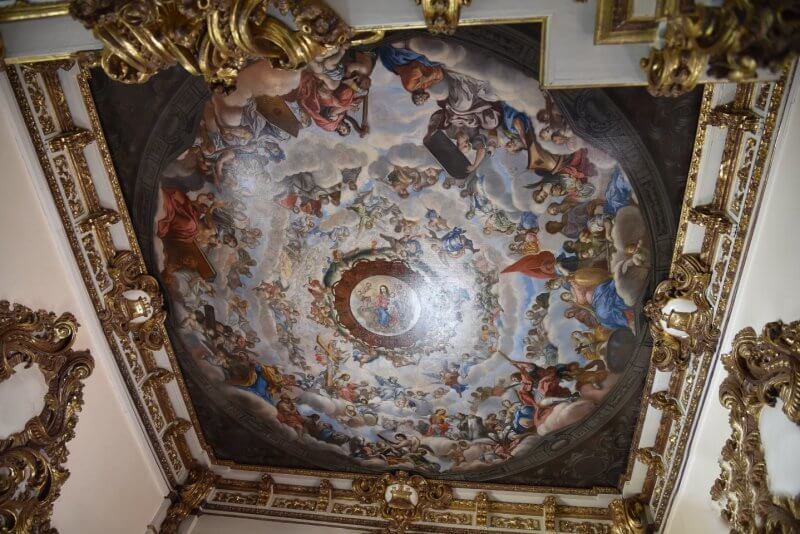 Потолок в Коронном зале