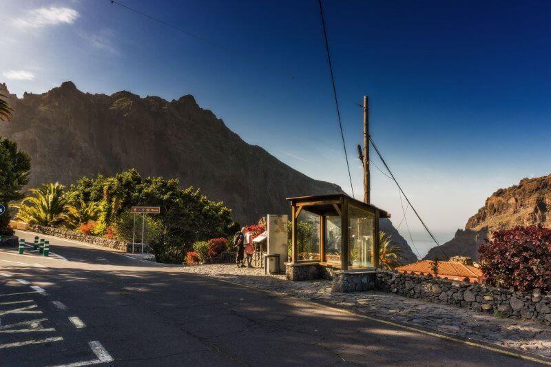 Вид на деревню Маска
