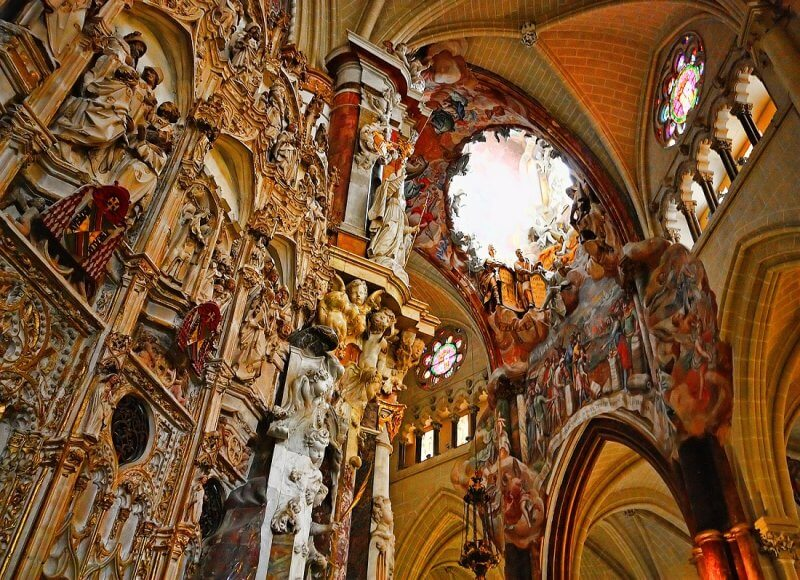 Декор Толедского собора