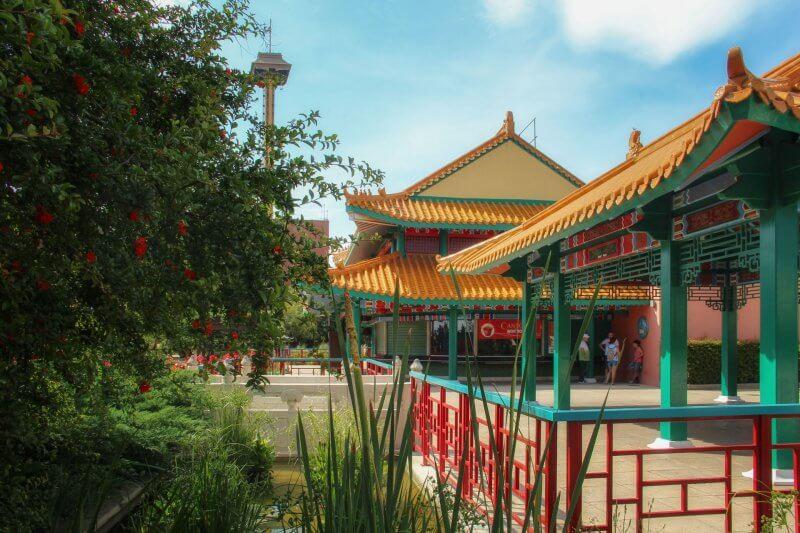 Китай в Порт Авентуре