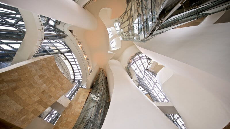 Потолок в музее Гуггенхайма