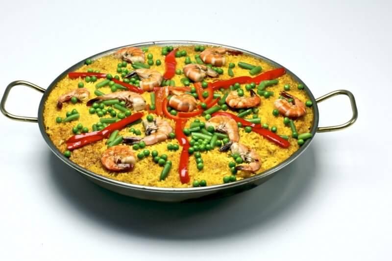 Сковородка для приготовления паэльи