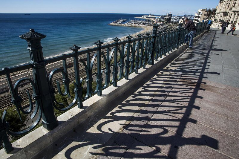 Обзорная площадка Mediterranean Balcony