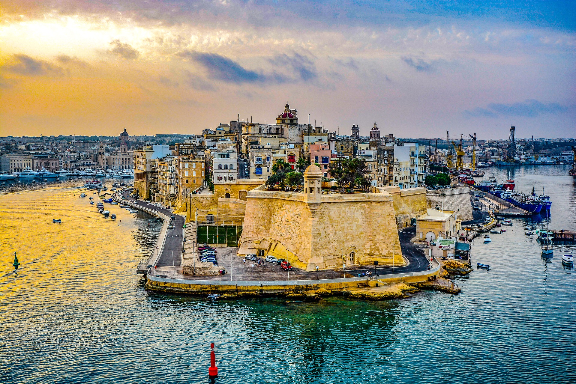 Столица Мальты Валетта