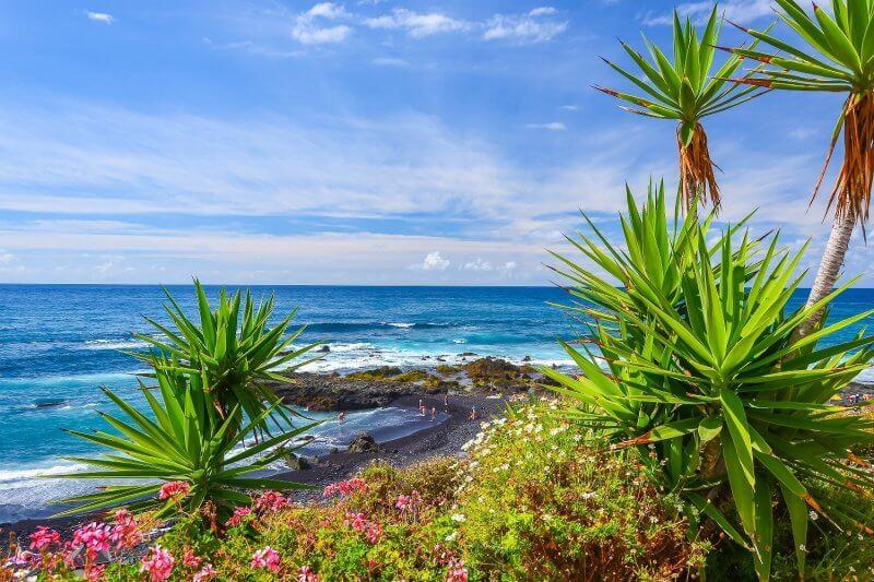 Пляж на Канарских островах