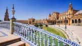 Площадь Испании – главная достопримечательность Севильи