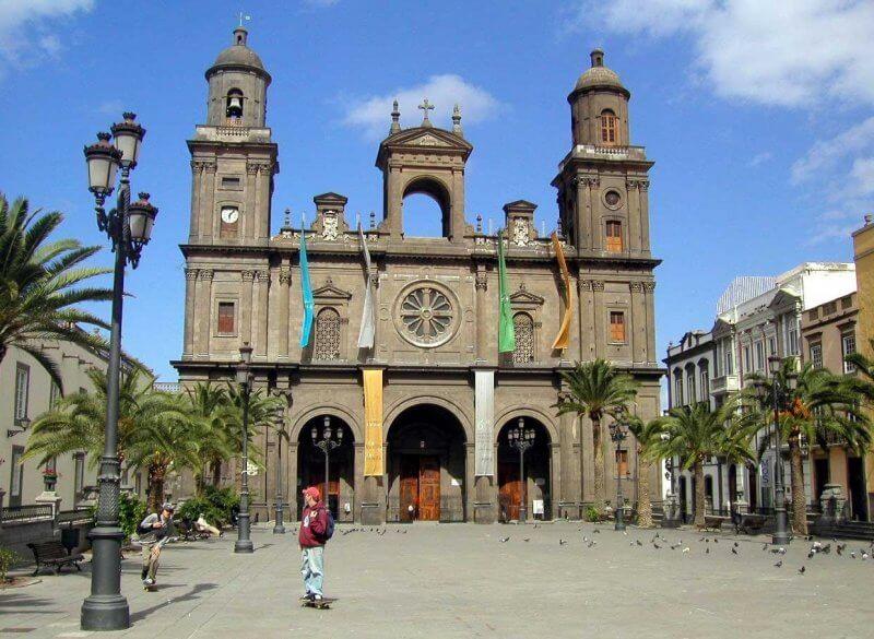 Старый город в Las-Palmas