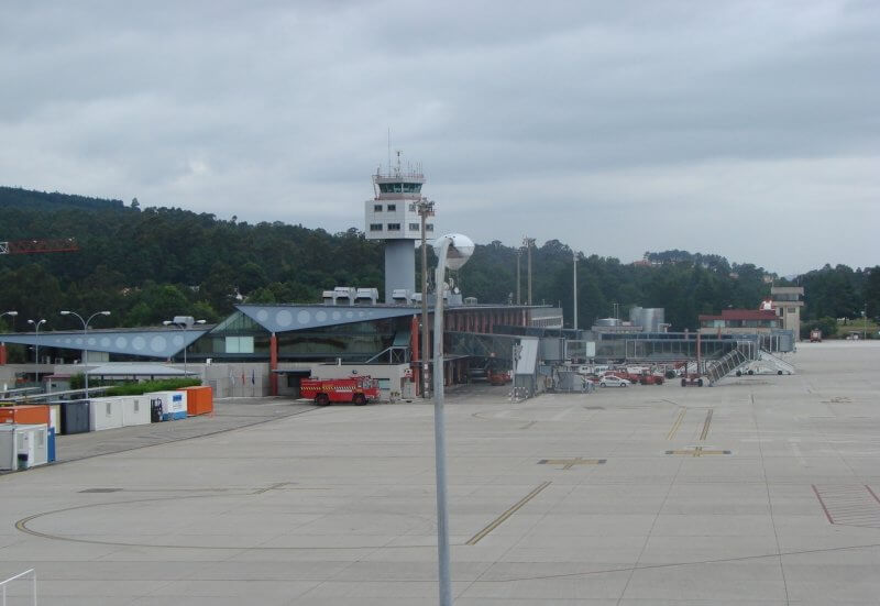 Аэропорт Vigo-Peinador