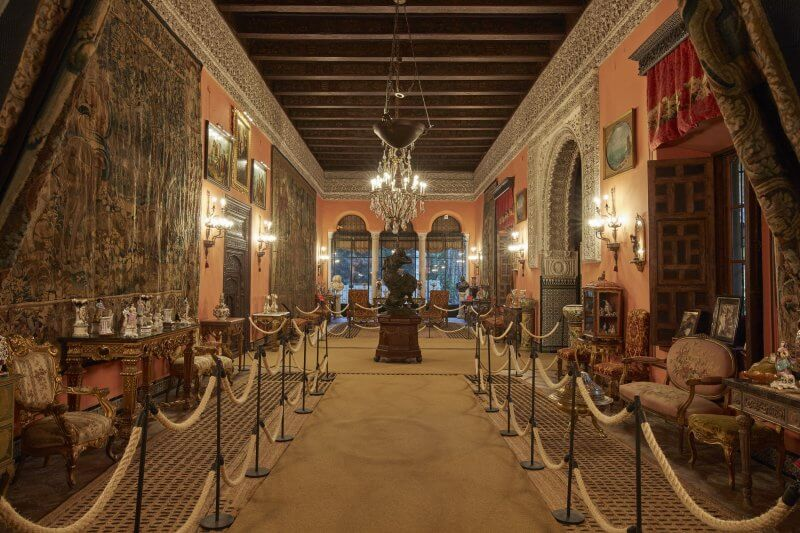 Дворец герцогини Альбы внутри