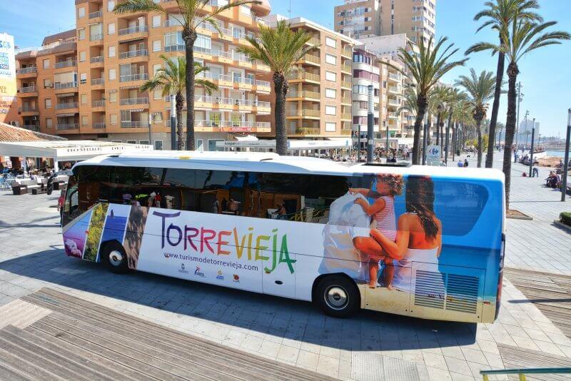 Автобус «TORREVIEJA»