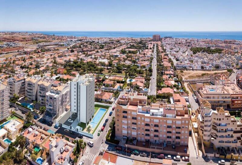 Вид на город Торревьеха