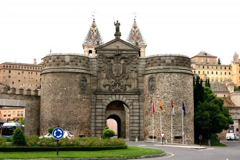 Ворота Puerta de Bisagra