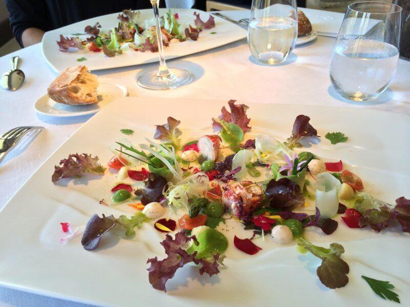 Блюдо в ресторане Martin Berasategui