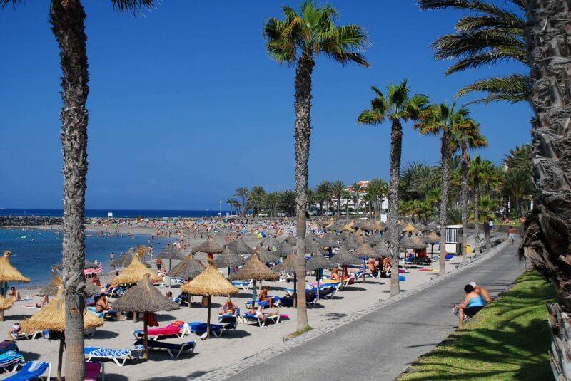Пляж Камисон на Тенерифе