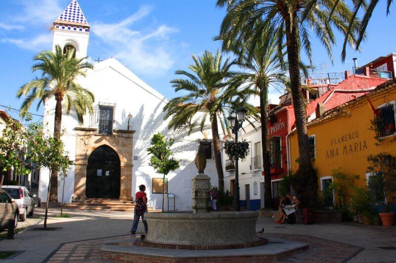 Главная церковь Марбельи
