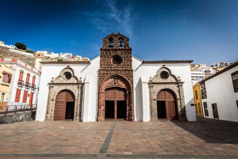 Церковь Успения Девы Марии в Сан-Себастьян-де-Ла-Гомера