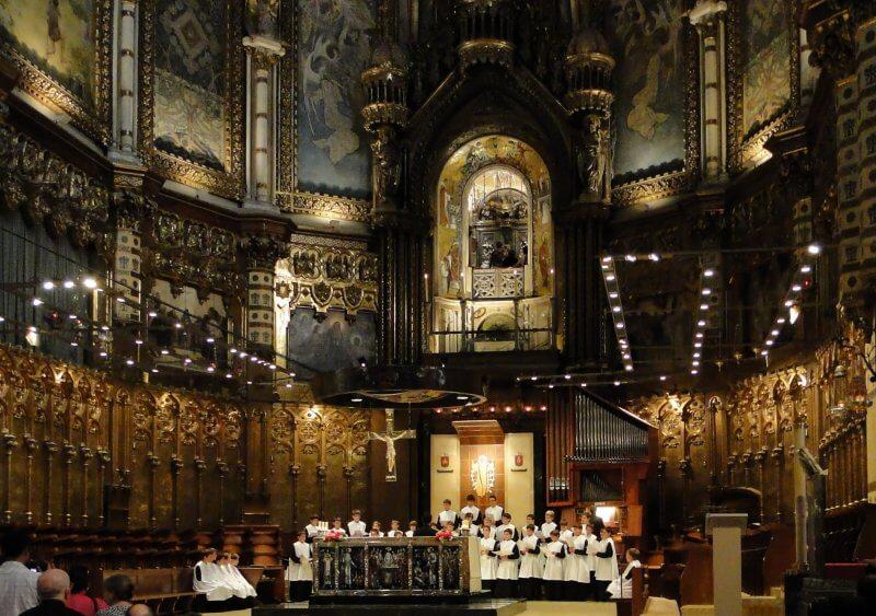 Монастырский хор