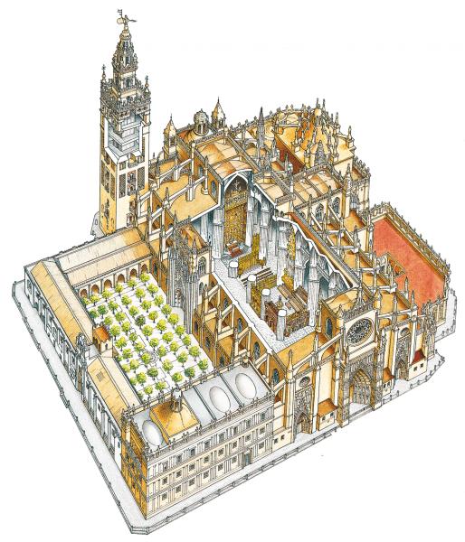 План кафедрального собора