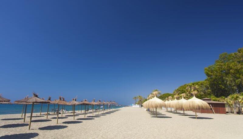Пляж в Марбелье