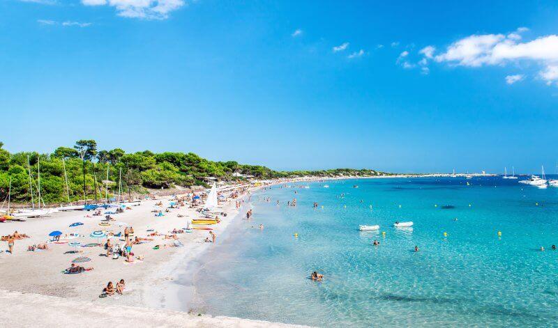 Пляжи острова Ибица