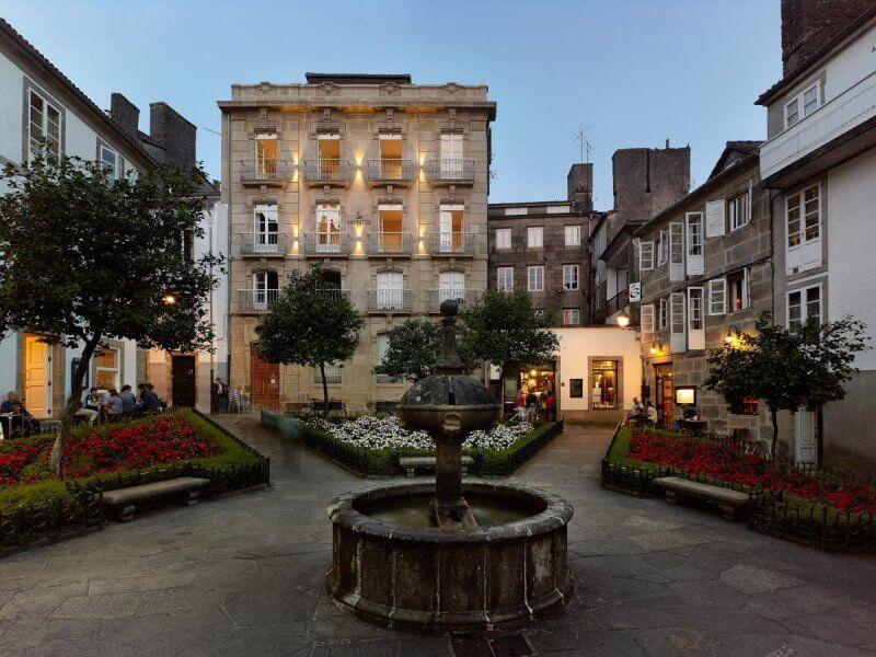Отель в Сантьяго-де-Компостела