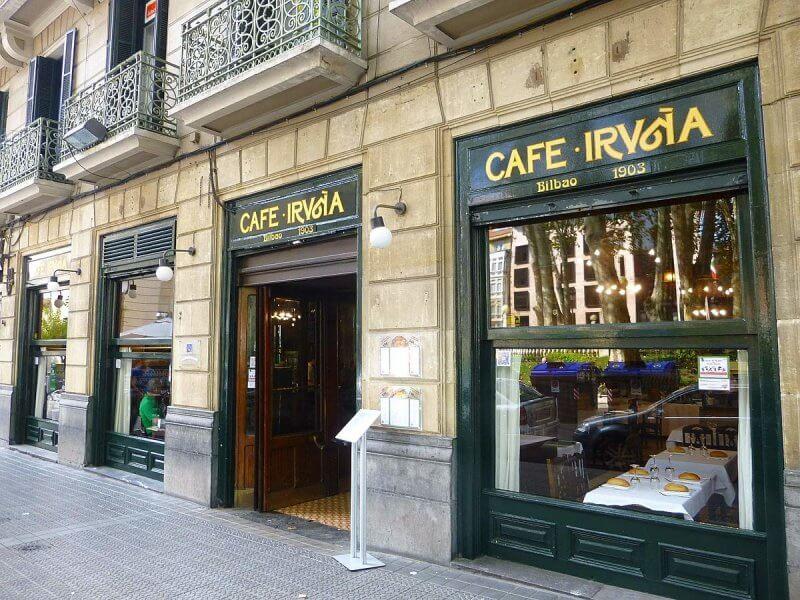 Кафе в Бильбао