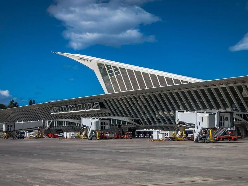 Аэропорт в Бильбао