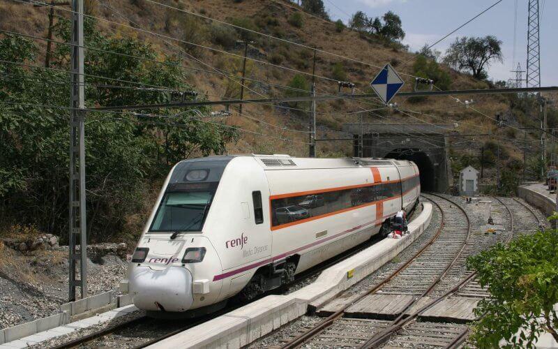 Поезд в Мурсии