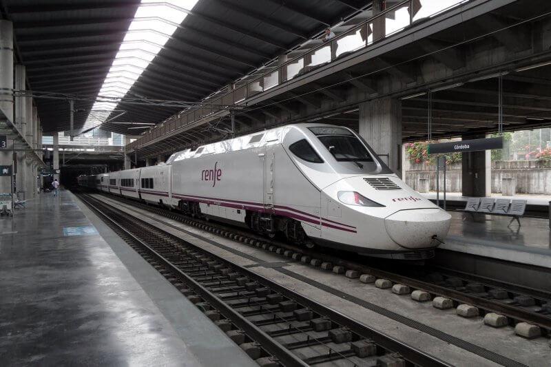 Поезд в Кордобе