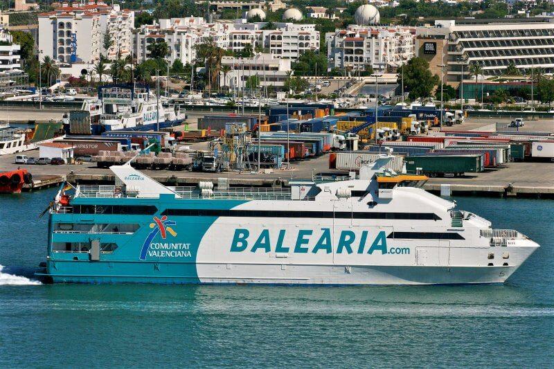 Паром «Balearia»