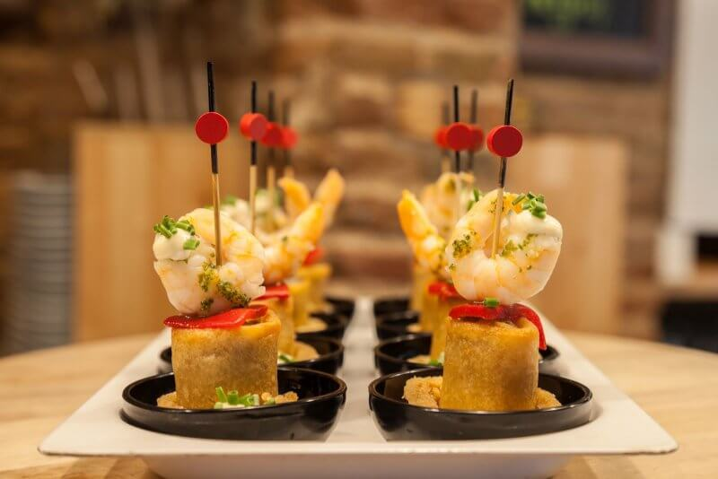 Блюда Тапас