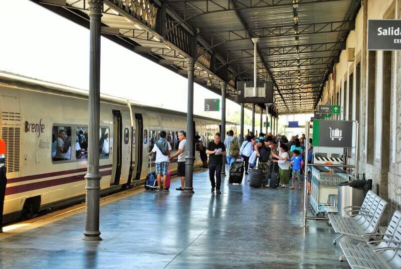 Железнодорожный вокзал Гранады