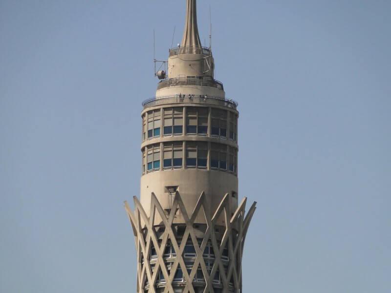 Верх Каирской телебашни