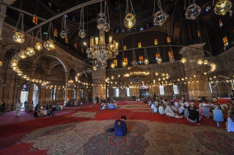 Мечеть Мухаммеда Али внутри