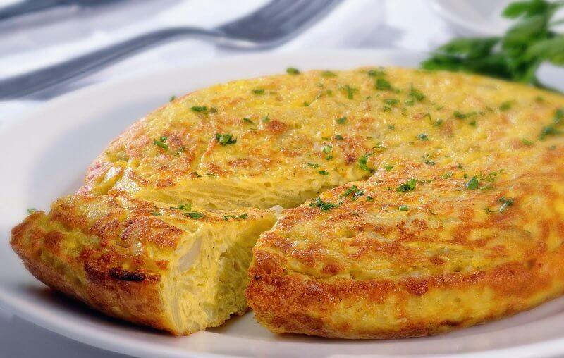 Тортилья с картофелем