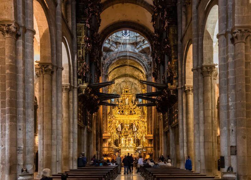 Собор Святого Иакова внутри