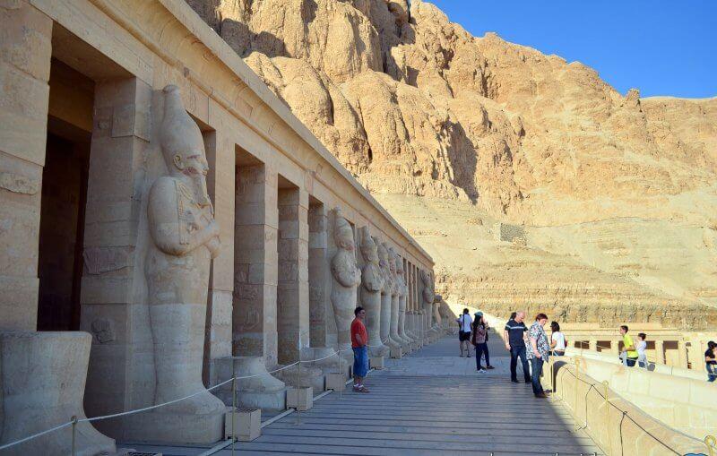 Верхняя терраса храма Хатшепсут