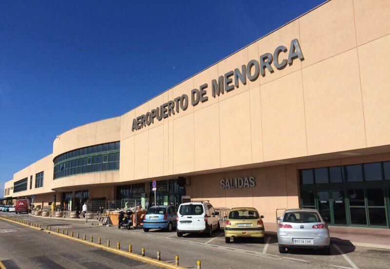 Аэропорт на Менорке