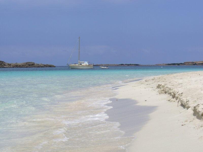 Пляж S'Espalmador